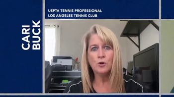 United States Tennis Association (USTA) TV Spot, 'Hit Hard' Featuring Ben Zaiser, Jorge Capestany - Thumbnail 3