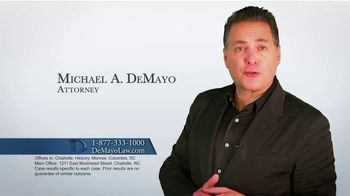 Law Offices of Michael A. DeMayo TV Spot, 'Hit the Reset Button' - Thumbnail 2