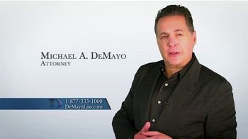 Law Offices of Michael A. DeMayo TV Spot, 'Hit the Reset Button' - Thumbnail 3