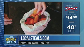 Local Steals & Deals TV Spot, 'Three Different Sizes: Lotus Trolley Bags' Featuring Lisa Robertson