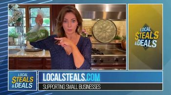 Local Steals & Deals TV Spot, 'Three Different Sizes: Lotus Trolley Bags' Featuring Lisa Robertson - Thumbnail 2