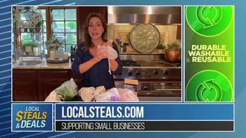 Local Steals & Deals TV Spot, 'Three Different Sizes: Lotus Trolley Bags' Featuring Lisa Robertson - Thumbnail 4