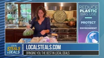 Local Steals & Deals TV Spot, 'Three Different Sizes: Lotus Trolley Bags' Featuring Lisa Robertson - Thumbnail 6