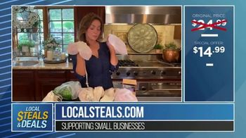 Local Steals & Deals TV Spot, 'Three Different Sizes: Lotus Trolley Bags' Featuring Lisa Robertson - Thumbnail 7
