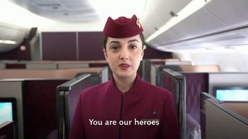 Qatar Airways TV Spot, 'United in Dedication, We Share Our Gratitude' - Thumbnail 7
