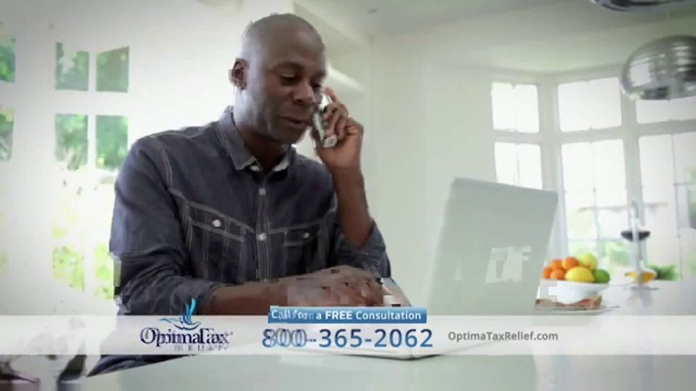 Optima Tax Relief TV Commercial, 'Resolve Your Tax Debt From Home: Louie'