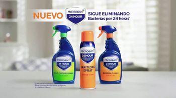 Microban 24 Hour TV Spot, 'Eliminar las bacterias' [Spanish] - Thumbnail 3