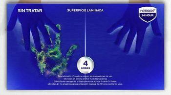 Microban 24 Hour TV Spot, 'Eliminar las bacterias' [Spanish] - Thumbnail 5