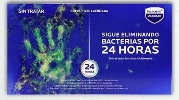 Microban 24 Hour TV Spot, 'Eliminar las bacterias' [Spanish] - Thumbnail 6