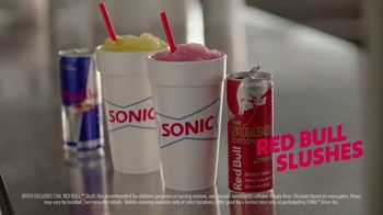 Sonic Drive-In Red Bull Summer Edition Slushes TV Spot, 'Pep in My Step' - Thumbnail 8