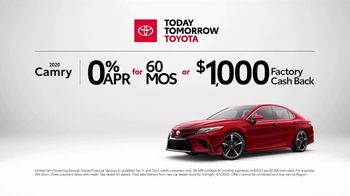Today Tomorrow Toyota TV Spot, 'Trust Toyota: Camry' Song by Vance Joy [T1] - Thumbnail 4