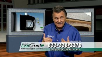 LeafGuard of Seattle $99 Install Sale TV Spot, 'Ladder Accidents'