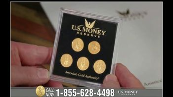 U.S. Money Reserve TV Spot, \'The Next Gold Rush: $189\' Featuring Chuck Woolery