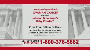 Consumer Attention TV Spot, 'Ovarian Cancer' - Thumbnail 5
