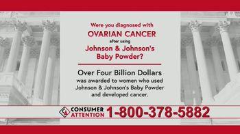 Consumer Attention TV Spot, 'Ovarian Cancer' - Thumbnail 6