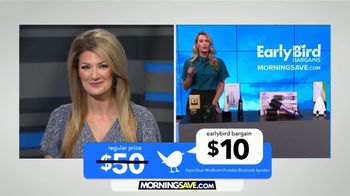 MorningSave TV Spot, 'Speaker, Hairbrush, Toothbrush and Oils' - Thumbnail 4