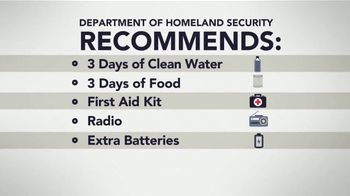 Disaster Checklist TV Spot, 'Prepare Your Family' - Thumbnail 4