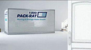1-800-PACK-RAT TV Spot, 'Moving & Storage'