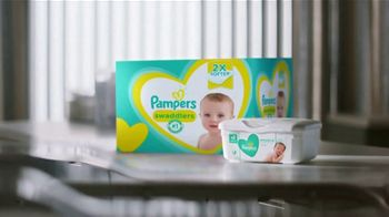 Pampers TV Spot, 'Keeps Skin Dry & Healthy' - Thumbnail 1