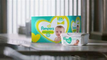 Pampers TV Spot, 'Keeps Skin Dry & Healthy'
