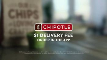 Chipotle Mexican Grill TV Spot, '$1 Delivery: Straight To Your Door' - Thumbnail 8