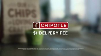 Chipotle Mexican Grill TV Spot, '$1 Delivery: Straight To Your Door' - Thumbnail 7