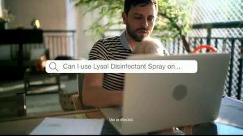 Lysol TV Spot, 'Questions' - Thumbnail 2