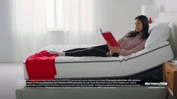 Mattress Firm Memorial Day Sale TV Spot, 'King for a Queen & Free Adjustable Base' - Thumbnail 4