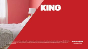 Mattress Firm Memorial Day Sale TV Spot, 'King for a Queen, Free Adjustable Base & 50 Percent Off' - Thumbnail 3