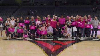 Comprehensive Cancer Centers of Nevada TV Spot, 'Las Vegas Aces: Breast Health Awareness' - Thumbnail 9