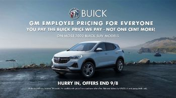 Buick Employee Pricing For Everyone TV Spot, 'S(You)V: Check This Out' Song by Matt and Kim [T2] - Thumbnail 7