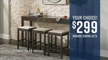 Ashley HomeStore Labor Day Sale TV Spot, 'Final Days: 40% and Dining Sets' - Thumbnail 8