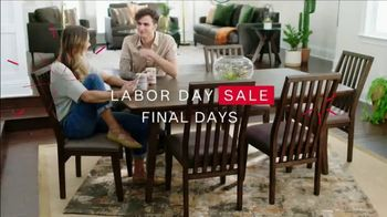 Ashley HomeStore Labor Day Sale TV Spot, 'Final Days: 40% and Dining Sets' - Thumbnail 9