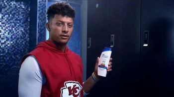 Head & Shoulders TV Spot, '100%' Featuring Patrick Mahomes, Troy Polamalu