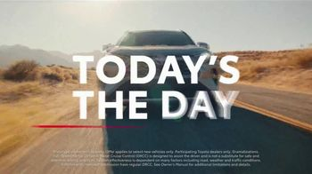 Toyota Today's the Day Event TV Spot, 'Outsmart' Song by Bob Marley and the Wailers [T2] - Thumbnail 2