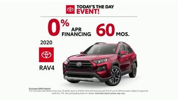 Toyota Today's the Day Event TV Spot, 'Outsmart' Song by Bob Marley and the Wailers [T2] - Thumbnail 7