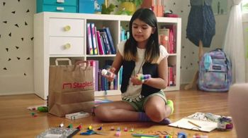 Staples TV Spot, 'School Goes On: Notebooks and Glue' - Thumbnail 1