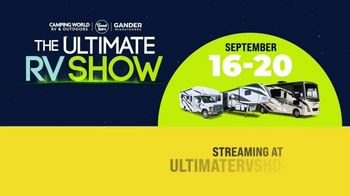 Camping World Ultimate RV Show TV Spot, 'Ultimate Product Debuts and Pricing' - Thumbnail 9