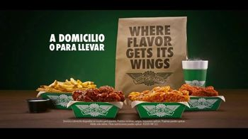 Wingstop TV Spot, 'Enciende tu cena: domicilio o para llevar' [Spanish] - Thumbnail 9