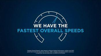Spectrum Mobile TV Spot, 'We're Growing Faster' - Thumbnail 1