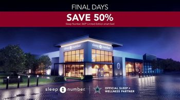 Sleep Number Biggest Sale of the Year TV Spot, 'Save 50%: 24 Months' - Thumbnail 5