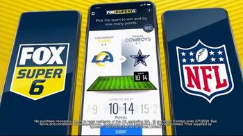 FOX Sports App TV Spot, 'Super Six: Next Weeks Game' - Thumbnail 4