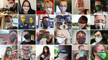 Vistaprint TV Spot, 'Customize Your Mask' Song by Count Rockin' Sidney Feat. The Dukes - Thumbnail 5