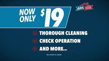 ARS Rescue Rooter TV Spot, 'Tip Top Shape: $19 A/C Tune-Up' - Thumbnail 4