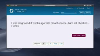 Breastcancer.org TV Spot, 'In Uncertain Times' - Thumbnail 2