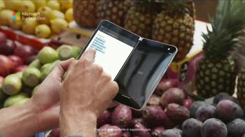 Microsoft Surface Duo TV Spot, 'A New Way To Get Things Done' Song by Queen - Thumbnail 5