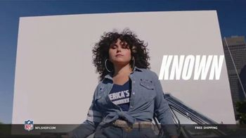 NFL Shop TV Spot, 'Make the Game Yours: Free Shipping' Song by ADÉ - Thumbnail 2