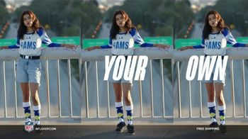 NFL Shop TV Spot, 'Make the Game Yours: Free Shipping' Song by ADÉ - Thumbnail 5
