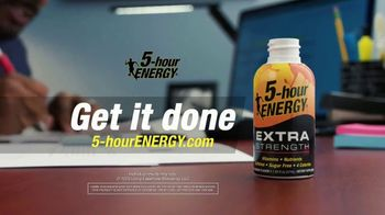 5-Hour Energy Extra Strength TV Spot, 'Everyday Let's Do This: Get It Done' - Thumbnail 7