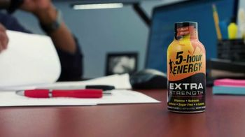 5-Hour Energy TV Spot, 'Work Late' - Thumbnail 1